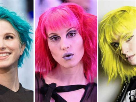 hayley williams hair color we which hayley williams hair dye colour you should
