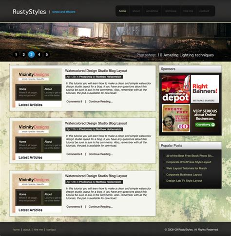 website tutorial website 30 best web design layout photoshop tutorials
