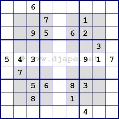 Printable Hyper Sudoku | hyper sudoku sudoku pinterest