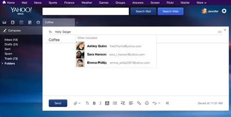 yahoo email query yahoo mail free email with 1tb of storage