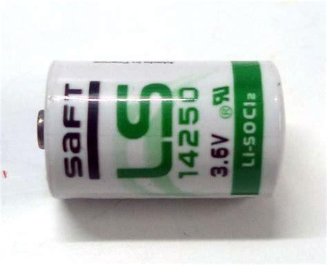Saft Lithium Ls14250 36v Plc Battery saft ls14250 1 2aa 3 6v plc industrial automation end 10
