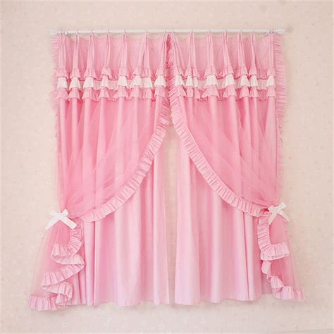 girls pink bedroom curtains young girls pink bedrooms lace window curtains