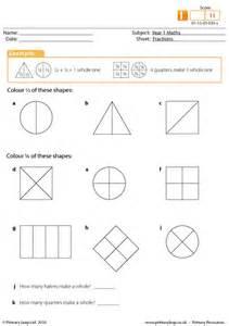 all worksheets 187 fractions worksheets halves and quarters