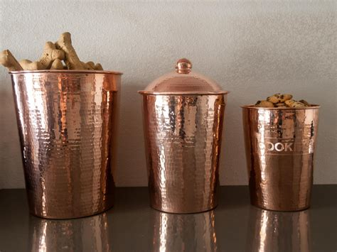 canisters astounding copper kitchen canisters glass
