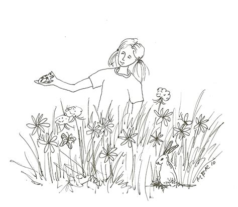 butterfly meadow coloring pages meadow coloring pages