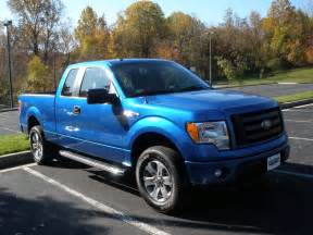 Blue Ford Truck Is Friends