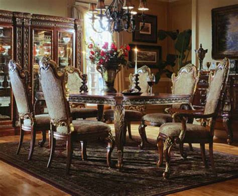 vintage dining rooms metropolitan contemporary 7 piece dining room furniture