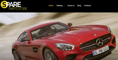 live car themes best auto parts virtuemart themes templates free