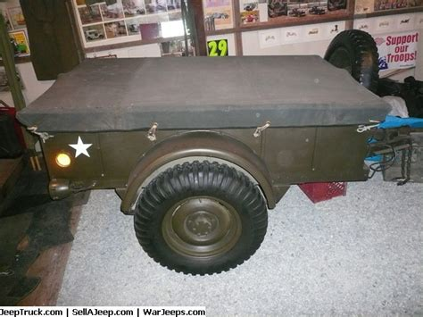 Bantam Jeep Trailer For Sale P1150398