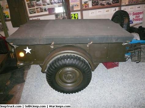 Ww2 Jeep Trailer For Sale P1150398