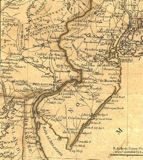 map of new jersey in colonial times respite rythm and revolution
