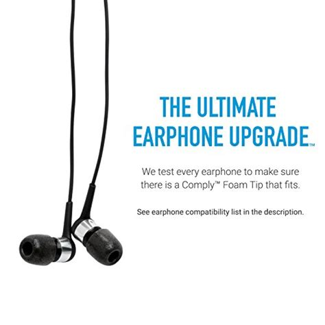 Memory Foam Comply S400 Original Premium Soft Eartips Earphone Iem comply foam premium earphone tips isolation t 100 multi color 3 pairs s m l buy