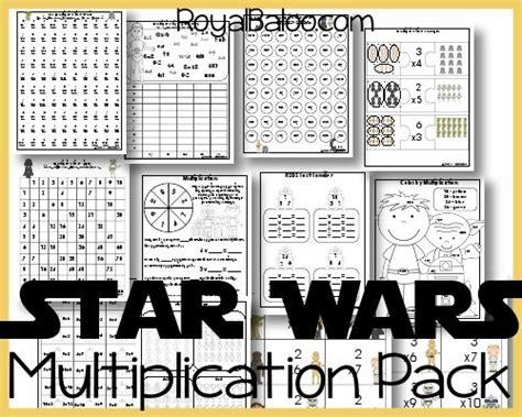 printable star numbers free star wars multiplication printables math ideas