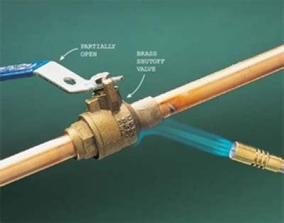 image gallery soldering pipe