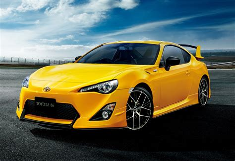 Gets This Cool Toyota 86 Yellow Limited Edition
