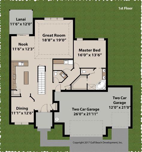 adair house plans adair florida house plan gast homes