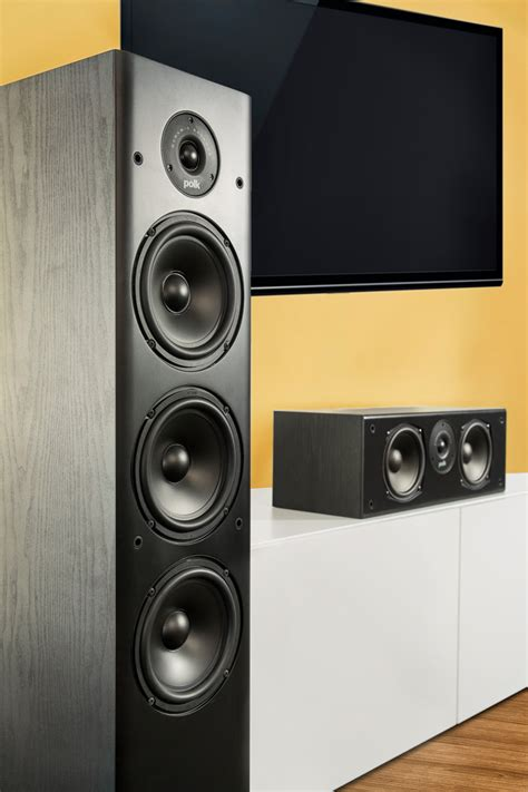 polk audio t50 t 50 home theater and floor