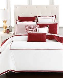 macys bed linen hotel collection embroidered frame king duvet cover only