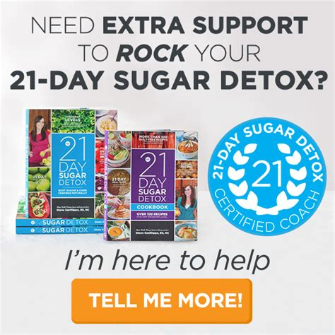 21 Day Sugar Detox Coaches by Improving Health One Meal At A Time