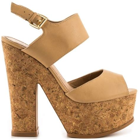 cork high heel sandals high heel cork sandals 2014