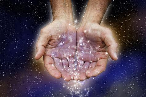 hands holding stars stock image image  environmental
