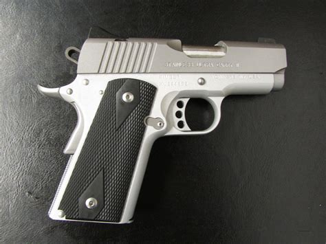 Kimber Ultra Carry 45acp kimber stainless ultra carry ii micro 1911 45 acp