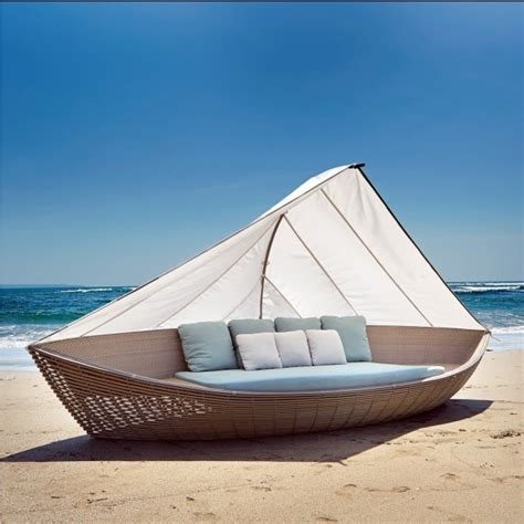 boat garden furniture skyline design the boat rattan daybed lounger luxury