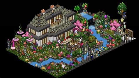 design flower game alice in wonderland made by saosin cool habbo rooms