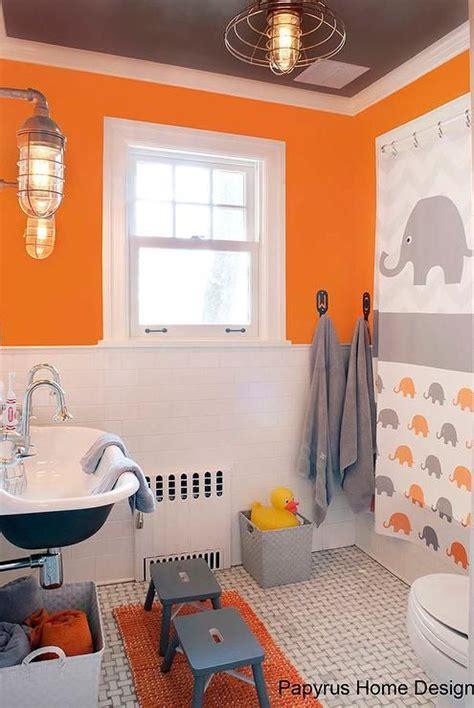orange bathroom ideas 25 best ideas about orange bathroom decor on