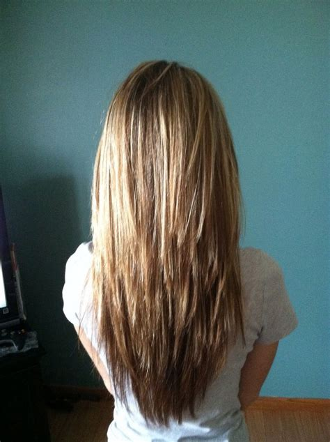 hair styles for back of best 25 long layered hair ideas on pinterest long