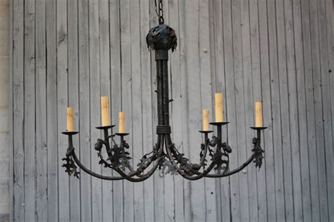 Handmade Wrought Iron Chandeliers - wrought iron chandeliers rustic new lighting