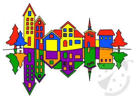 tavola colori primari e secondari paesaggio con colori primari e colori secondari