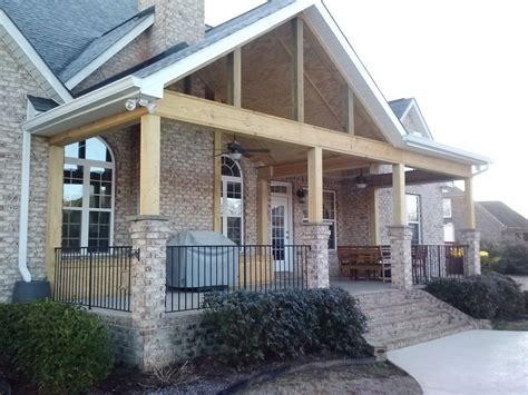 covered porch porches in macon and warner robins ga area