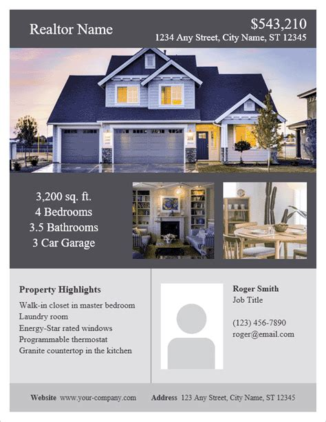 15 real estate flyer templates for marketing campaigns apartments
