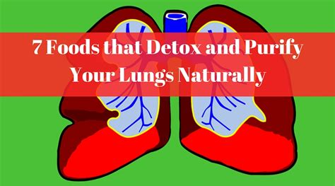 Foods That Detox Your Lungs by 7 Foods That Detox And Purify Your Lungs Naturally