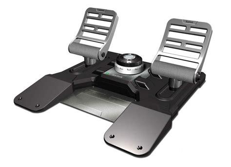 Saitek Pro Flight Rudder Pedals saitek pro flight combat rudder pedals pc multirama gr
