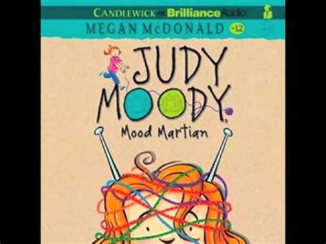 judy moody was in a mood book report audiobook narrator barbara rosenblat judy moody mood