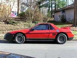 1986 Pontiac Fiero Mpg Sell Used 1986 Fiero Se Enhanced In Woodbridge Virginia
