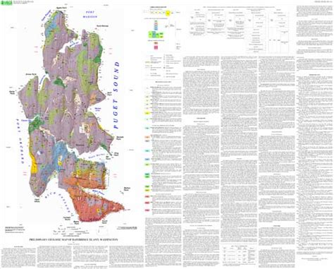 seattle geologic map preliminary geologic map of bainbridge island washington
