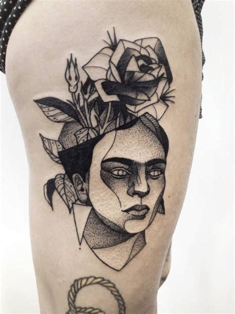 frida kahlo tattoos michele zingales palermo italian artists