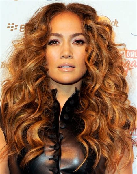 haircuts for voluminous curly hair jennifer lopez hairstyles golden voluminous long curls