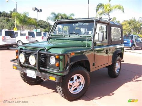 green land rover defender 1994 coniston green land rover defender 90 top