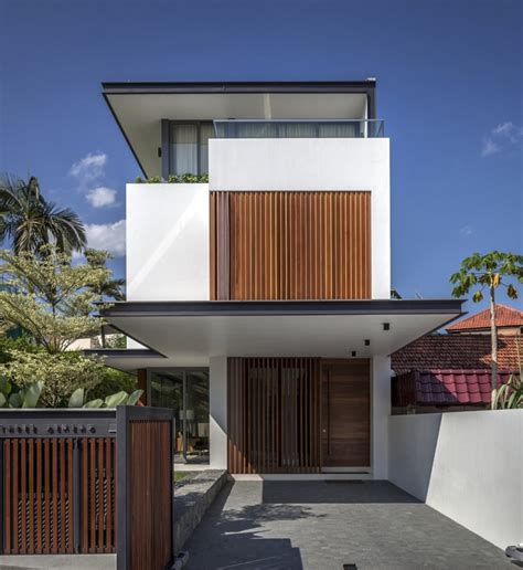 narrow house long narrow house in singapore encouraging strong family