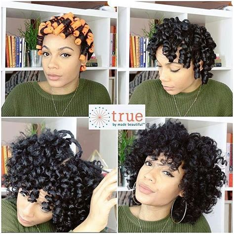 cold wave curl style 207 best natural hair flexi rods cold wave rods straw