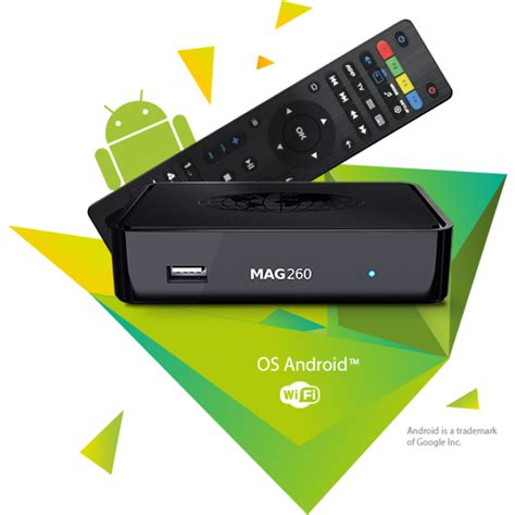 iptv android mag260 iptv set top boxes with built in wifi using android os infomir mag260 set top boxes for