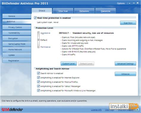 anty wirusy windows bitdefender antivirus pro 2011 download instalki pl
