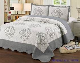 quilt size 3 pc bedding bed set bedspread