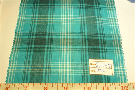 Patchwork Plaid - madras plaid plaid fabric madras fabric preppy plaid