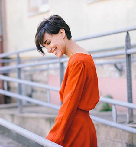 cutting your own pixie cut with long bangs the best 2016 short hair trends hair world magazine