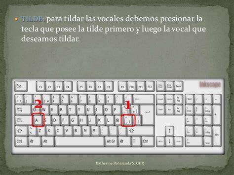 como poner un acento en la computadora como poner acentos en el teclado 4 186 m 243 dulo el teclado